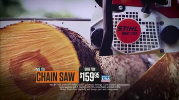 STIHL TV Spot, 'Chainsaw & Hedgetrimmer' - Thumbnail 5