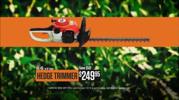 STIHL TV Spot, 'Chainsaw & Hedgetrimmer' - Thumbnail 7