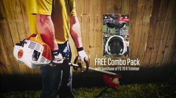 STIHL FS 70 R Trimmer TV Spot, 'Real People'