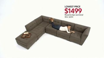 Macy's Spring Furniture Sale TV Spot, 'Sectionals' - Thumbnail 3