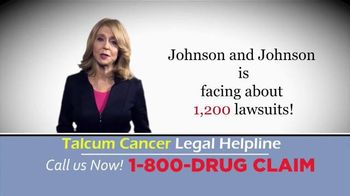 McDivitt Law Firm TV Spot, 'Talcum Cancer Legal Helpline'