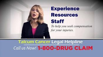 McDivitt Law Firm TV Spot, 'Talcum Cancer Legal Helpline' - Thumbnail 9