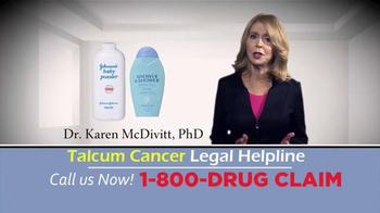 McDivitt Law Firm TV Spot, 'Talcum Cancer Legal Helpline' - Thumbnail 2