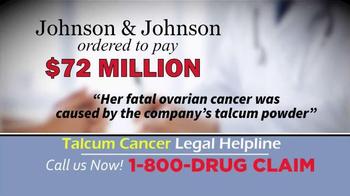 McDivitt Law Firm TV Spot, 'Talcum Cancer Legal Helpline' - Thumbnail 3