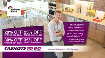 Cabinets To Go TV Spot, 'Secure Your Savings' - Thumbnail 5