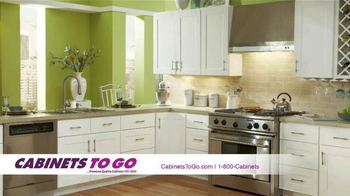 Cabinets To Go TV Spot, 'Secure Your Savings'