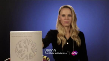 Usana TV Spot, 'Animated Faces' Featuring Caroline Wozniacki - Thumbnail 3