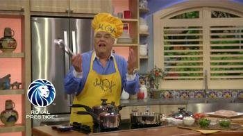 Royal Prestige TV Spot, 'Cocinando sin aceite' [Spanish] - Thumbnail 1