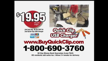Quick Clip USB Charger TV Spot, 'Take Charge' - Thumbnail 8