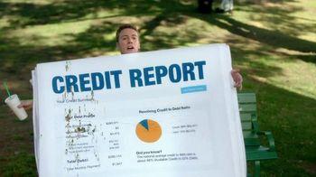 FreeCreditReport.com TV Spot, 'Park Bench'