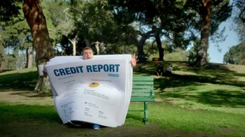 FreeCreditReport.com TV Spot, 'Park Bench' - Thumbnail 3