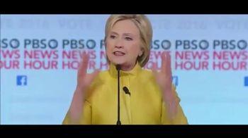 Hillary for America TV Spot, 'Work Hard'