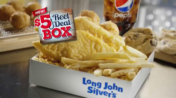 Long John Silver's $5 Reel Deal Box TV Spot, 'Welcome' - Thumbnail 8