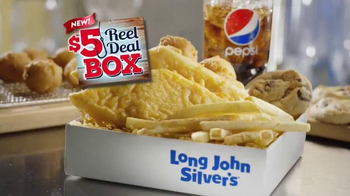 Long John Silver's $5 Reel Deal Box TV Spot, 'Welcome' - Thumbnail 9