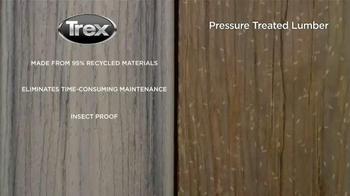 Trex TV Spot, 'Trex v. Pressure Treated Lumber'