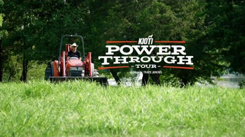 Kioti Tractors TV Spot, 'Power Through Tour' Featuring Trace Adkins - Thumbnail 2