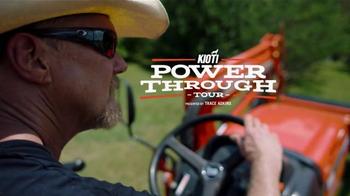 Kioti Tractors TV Spot, 'Power Through Tour' Featuring Trace Adkins - Thumbnail 3