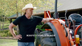 Kioti Tractors TV Spot, 'Power Through Tour' Featuring Trace Adkins - Thumbnail 7