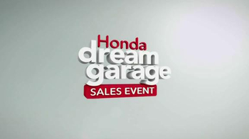 Honda Dream Garage Sales Event TV Spot, 'Motorcycles, ATVs, Side-by-Side' - Thumbnail 1