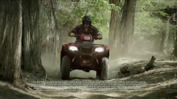 Honda Dream Garage Sales Event TV Spot, 'Motorcycles, ATVs, Side-by-Side' - Thumbnail 5