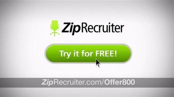 ZipRecruiter TV Spot, 'Hire Fast'