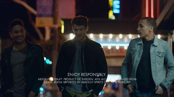 Absolut TV Spot, 'Make Your Nights' Song by Galantis - Thumbnail 1