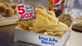 Long John Silver's $5 Reel Deal Box TV Spot, 'Bienvenido' [Spanish] - Thumbnail 3
