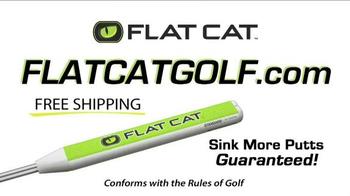 Flat Cat Golf TV Spot, 'Putter Grip' - Thumbnail 10
