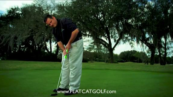 Flat Cat Golf TV Spot, 'Putter Grip' - Thumbnail 6