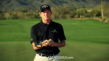 Flat Cat Golf TV Spot, 'Putter Grip' - Thumbnail 8