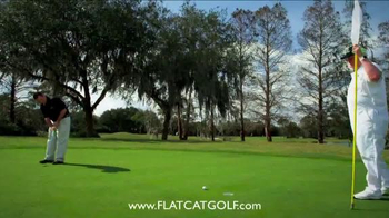 Flat Cat Golf TV Spot, 'Putter Grip'