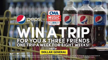 Pepsi TV Spot, 'Dollar General: 2016 CMA Music Festival' - Thumbnail 7