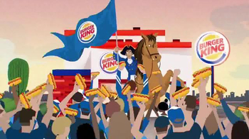 Burger King Grilled Dogs TV Spot, 'FXX: The Grilled Dogs are Here!' - Thumbnail 8