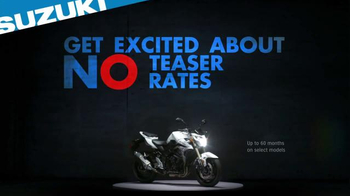 Suzuki TV Spot, 'Get Excited About Nothing' - Thumbnail 5
