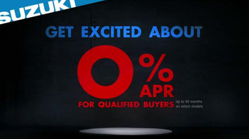 Suzuki TV Spot, 'Get Excited About Nothing' - Thumbnail 7