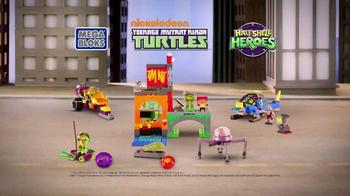 Mega Bloks Half-Shell Heroes Turtle Lair TV Spot, 'Roll Into Battle' - Thumbnail 9