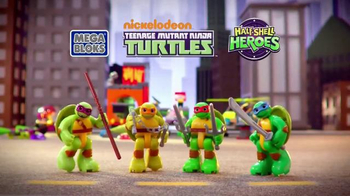 Mega Bloks Half-Shell Heroes Turtle Lair TV Spot, 'Roll Into Battle' - Thumbnail 3