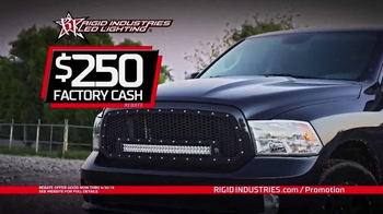 Rigid Industries LED Lighting TV Spot, 'LED Grille Rebate' - Thumbnail 3