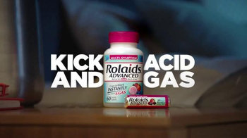 Rolaids Advanced TV Spot, 'Heartburn at Night' - Thumbnail 9