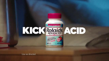Rolaids Advanced TV Spot, 'Heartburn at Night' - Thumbnail 4