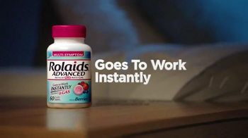 Rolaids Advanced TV Spot, 'Heartburn at Night' - Thumbnail 6