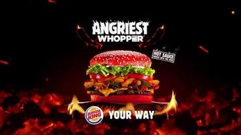 Burger King Angriest Whopper TV Spot, 'Raging Red Bun' - Thumbnail 10
