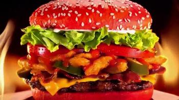 Burger King Angriest Whopper TV Spot, 'Raging Red Bun' - Thumbnail 7