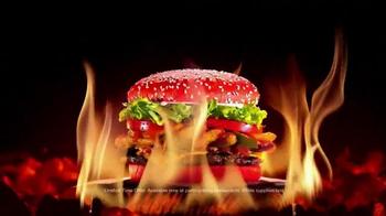 Burger King Angriest Whopper TV Spot, 'Raging Red Bun' - Thumbnail 8