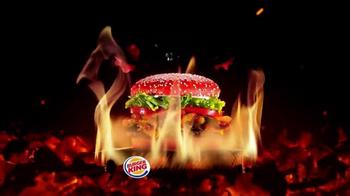 Burger King Angriest Whopper TV Spot, 'Raging Red Bun' - Thumbnail 9