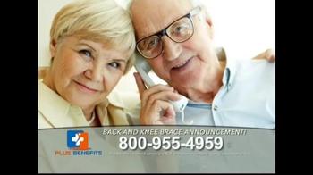 Plus Benefits TV Spot, 'Back and Knee Brace Announcement' - Thumbnail 3