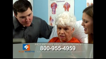 Plus Benefits TV Spot, 'Back and Knee Brace Announcement' - Thumbnail 4