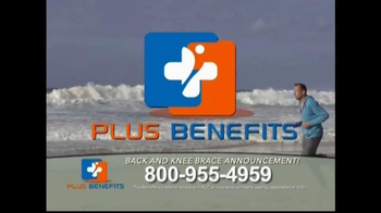 Plus Benefits TV Spot, 'Back and Knee Brace Announcement' - Thumbnail 7