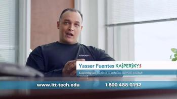 ITT Technical Institute TV Spot, 'Kaspersky' - Thumbnail 1