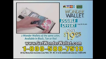 Wonder Wallet TV Spot, 'Crowding Your Purse' - Thumbnail 9